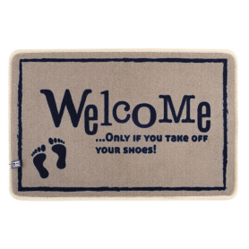 TAPPETO INGRESSO WELCOME SHOES